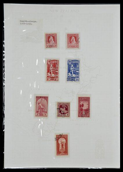 Postzegelverzameling 34229 Nieuw Zeeland 1929-1992.
