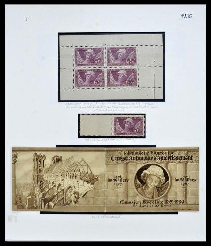 Postzegelverzameling 34235 Frankrijk 1930-2000.