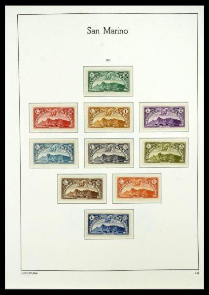 Postzegelverzameling 34243 San Marino 1877-2008.