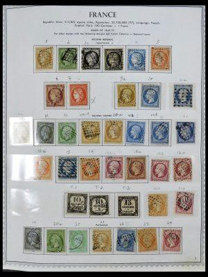 Foto van Postzegelverzameling 34255 Frankrijk 1849-2008.