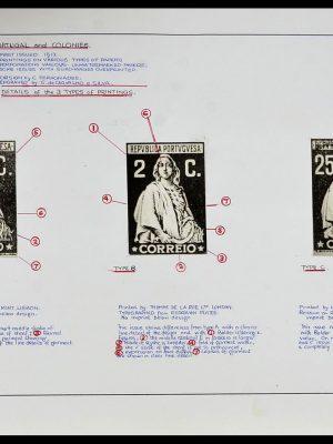 Foto van Postzegelverzameling 34281 Portugal en gebieden Ceres gespecialiseerd.