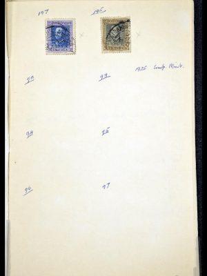 Foto van Postzegelverzameling 34282 Italië en gebieden 1852-1940.