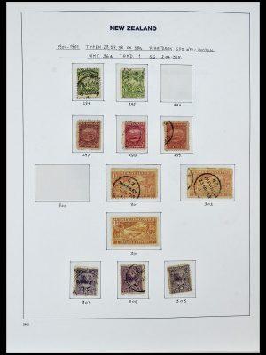 Foto van Postzegelverzameling 34288 Nieuw Zeeland 1900-2002.