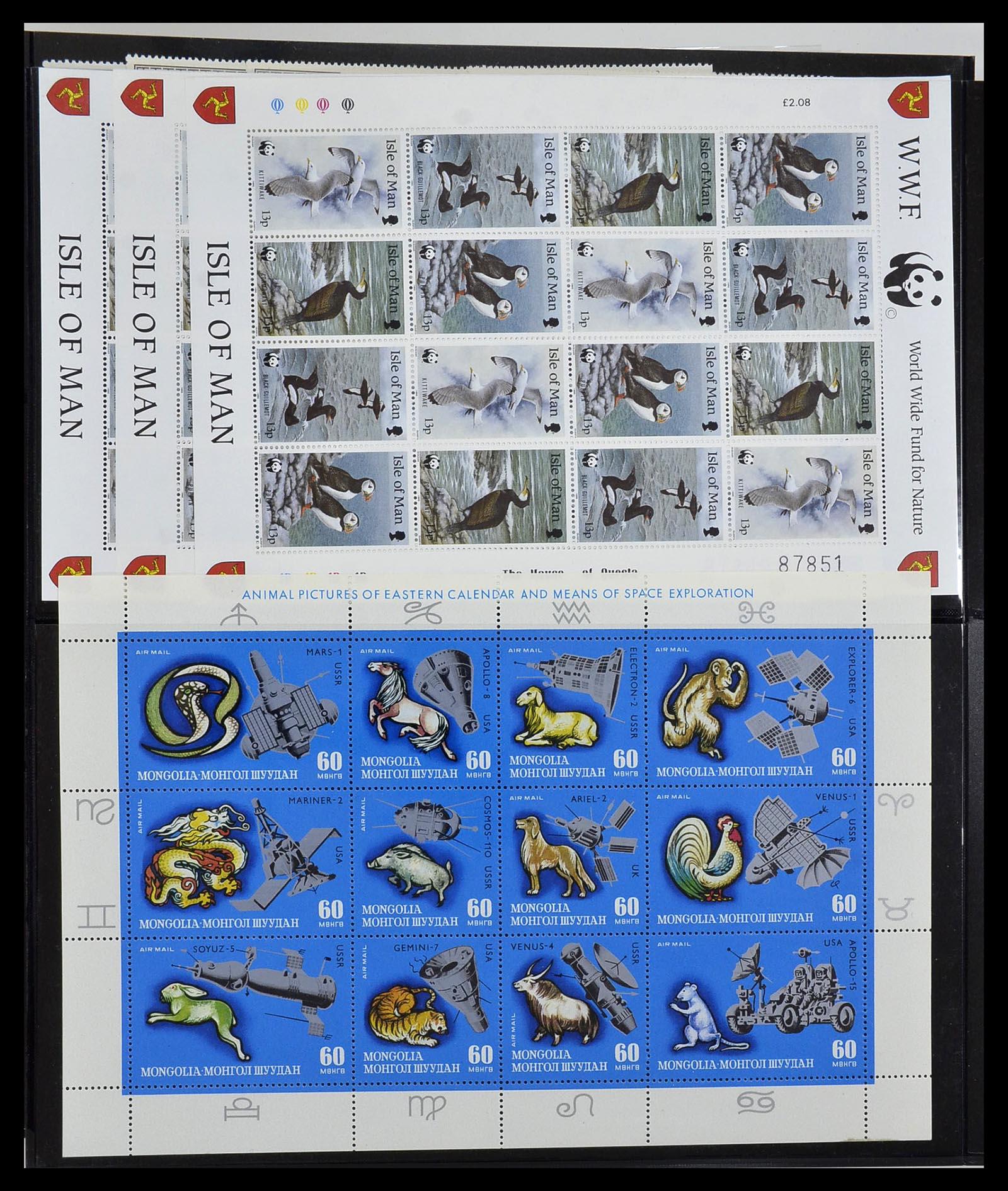 Foto van Postzegelverzameling 34290 Motief dieren postfris 1926-2005.