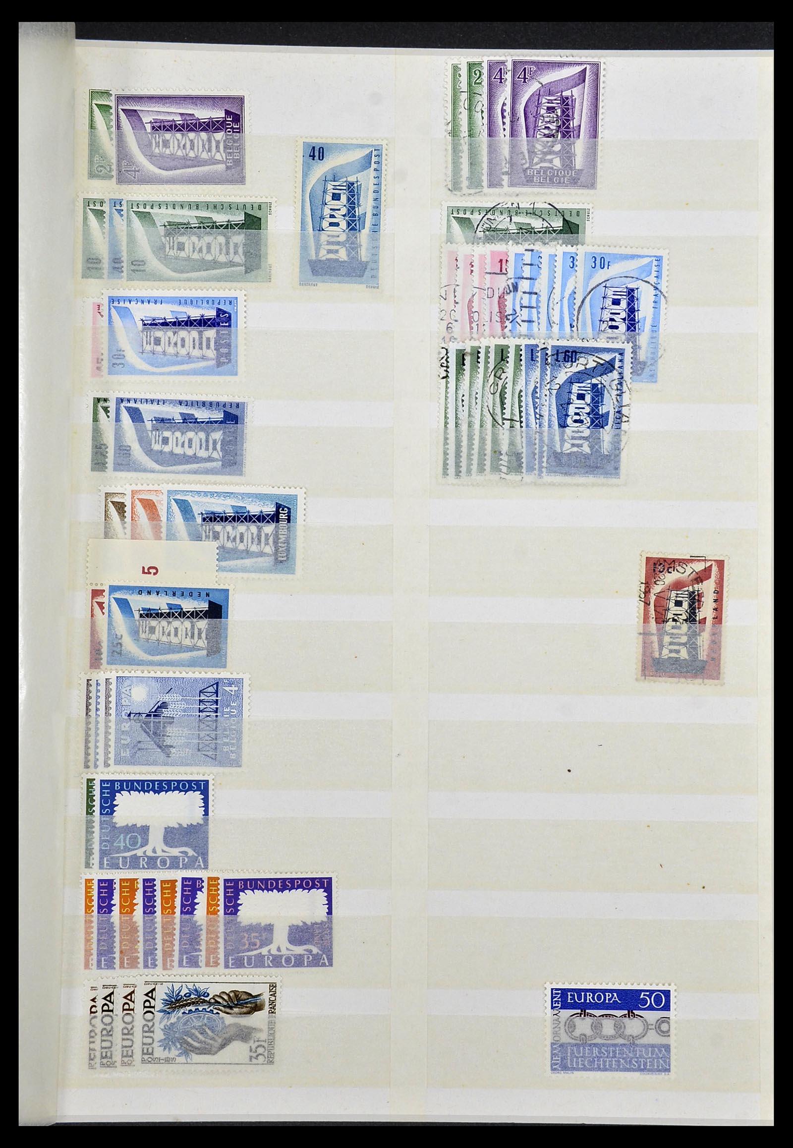 Foto van Postzegelverzameling 34308 Europa CEPT 1956-2000.