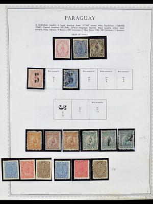 Foto van Postzegelverzameling 34310 Paraguay 1868-1993.