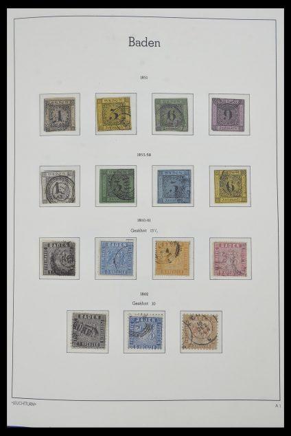 Foto van Postzegelverzameling 34315 Oud Duitse Staten 1849-1920.