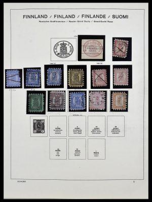 Foto van Postzegelverzameling 34321 Finland 1856-1999.