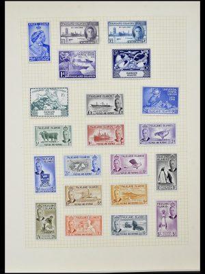 Foto van Postzegelverzameling 34331 Engelse koloniën 1937-1995.