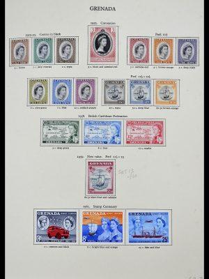 Foto van Postzegelverzameling 34334 Grenada 1953-1983.