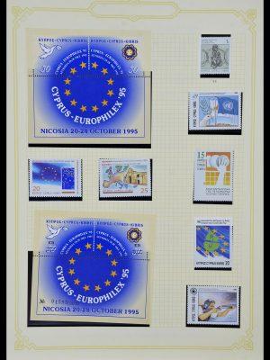 Foto van Postzegelverzameling 34335 Cyprus 1880-2012!