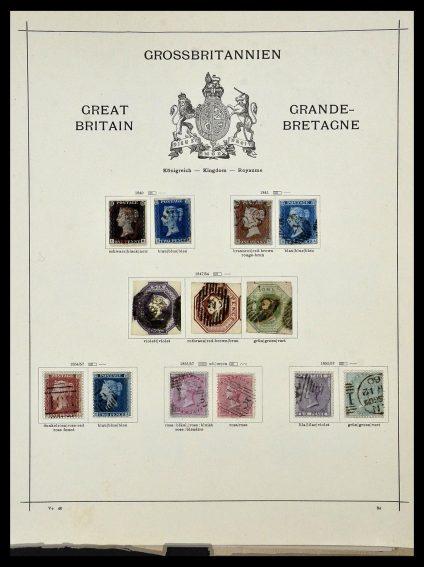 Foto van Postzegelverzameling 34360 Engeland 1840-1934.